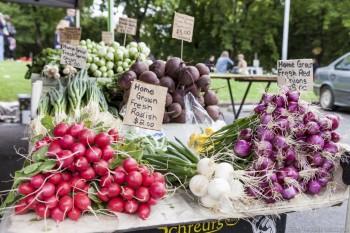 Stand de légumes, Salamanca Market