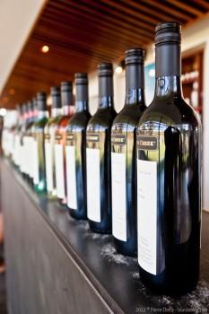 Bouteilles de vin, Barossa Valley