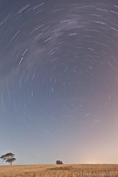 Ronde des étoiles en Australie