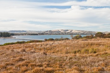 Victor Harbor depuis Granite Island