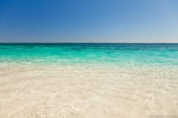 L'eau translucide de Turquoise Bay