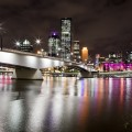La ville et le Victoria Bridge