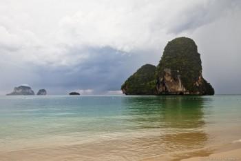 Plage de Railay Bay Thailande