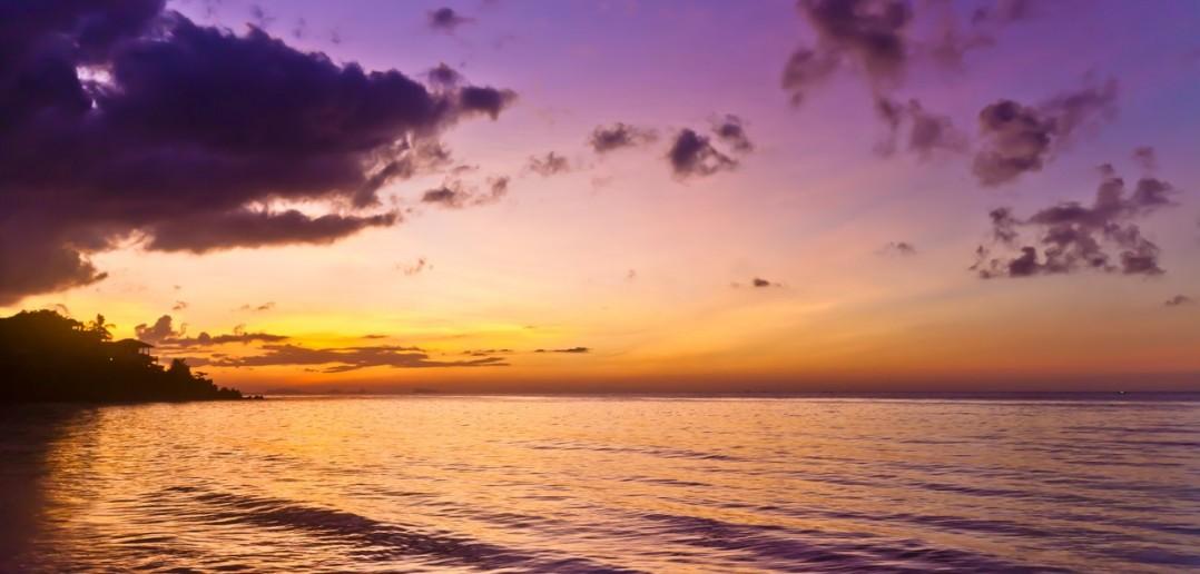 Koh Phangan Coucher soleil Thailande