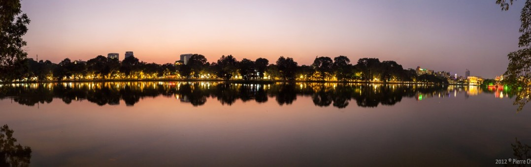 Panoramique Lac Hoan Kiem Hanoi