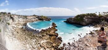 Panoramique Nusa Cenidan Bali Indonesie