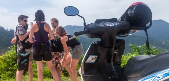 Scooter Koh Phangan Thailande