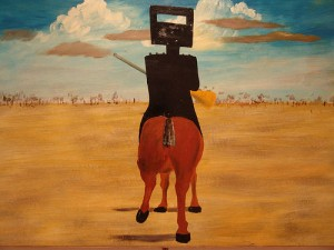 Ned Kelly peint par Nolan
