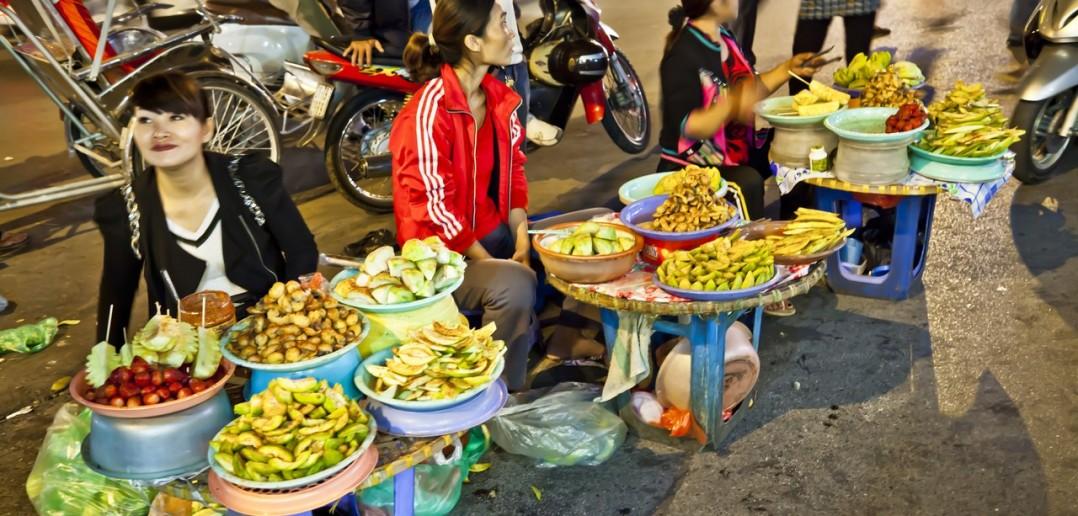 Marche Hanoi Vietnam