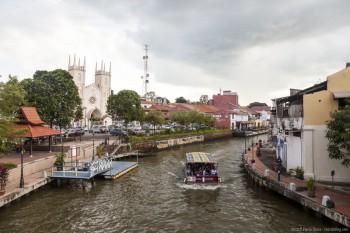 Melaka River Melaka Malaisie