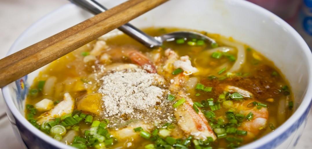 Soupe de crabe marche Ho Chi Minh Vietnam
