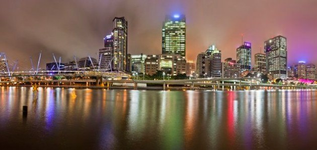 Photo du jeudi : Brisbane en panoramique