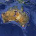 Notre itinéraire en van autour d'Australie