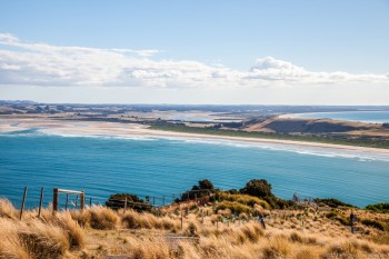 Vue depuis the Nut Stanley Tasmanie Australie