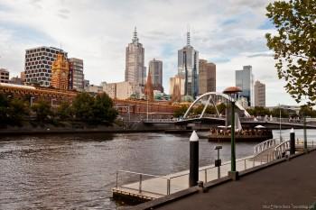 Yarra River Melbourne Victoria Australie