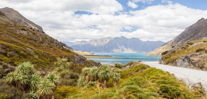 Lac Hawea Nouvelle-Zelande