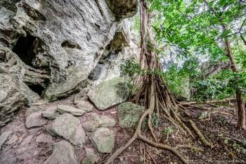 Les grottes de Koumac