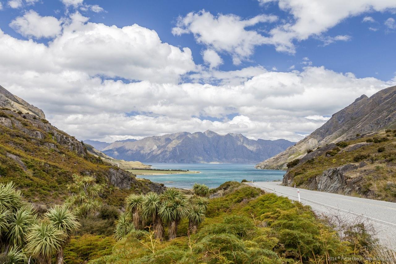 La région des lacs : Hawea, Wanaka et Wakatipu