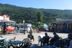 La place centrale de Dupnica