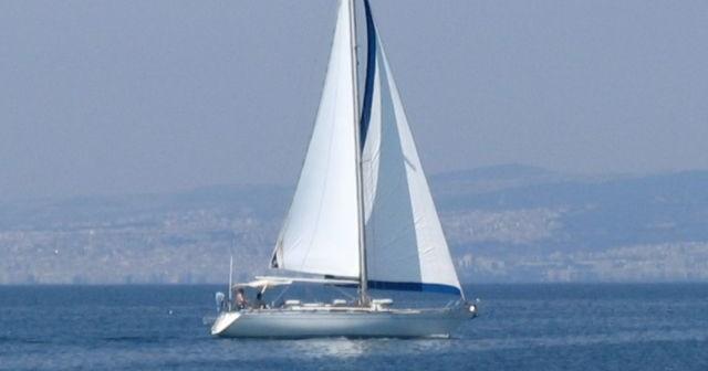 Bateau sur la mer Égée