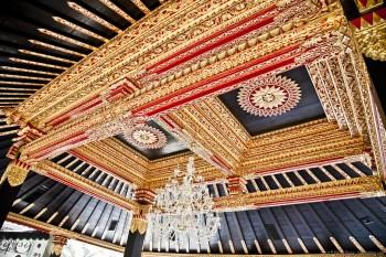 Dorures du Kraton Yogyakarta Java Indonesie