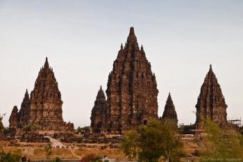 Temple Prambanan Java Indonesie
