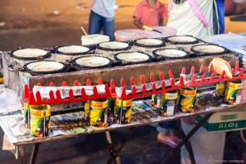 Crepes mais marche nocturne Kuah Langkawi Malaisie