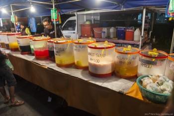 Marche nocturne Kuah Langkawi Malaisie