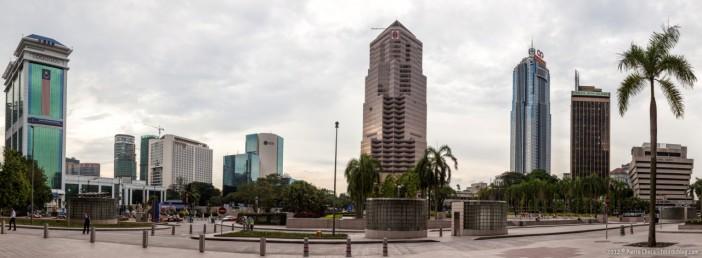 Panoramique centre Kuala Lumpur Malaisie