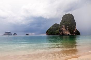 Plage de Phra Nang Railey Bay Thailande