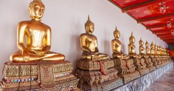 Statues Wat Pho Bangkok Thailande