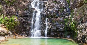Temurun waterfalls Langkawi Malaisie