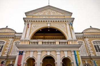 Townhall Georgetown Penang Malaisie