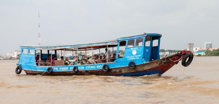 Bateau Mekong Vietnam