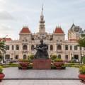 Hotel de ville Ho Chi Minh city Vietnam