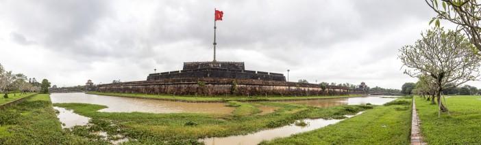 Panoramique de la Citadelle d'Hué, Vietnam