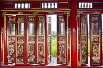 Portes du Palais de Hué, Vietnam