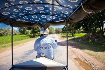 Sinat tuk tuk Angkor Cambodge