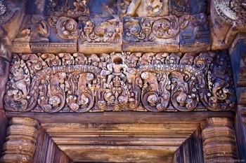 Temple de Banteay Sray, Angkor, Cambodge