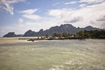 Jetee Don Sak Koh Samui Thailande