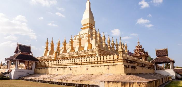 Pha That Luang, Vientiane, Cambodge