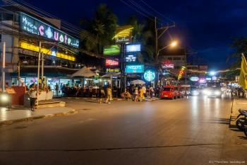 Phuket de nuit, Thailande