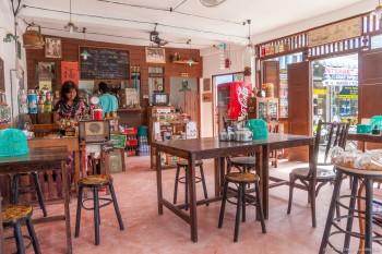 Un restaurant de Phuket, Thaïlande