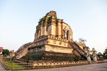 Wat Chedi Luang Chiang Mai Thailande