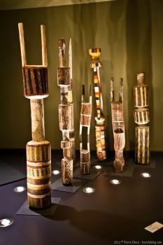 Art aborigène, National Museum of Australia, Canberra