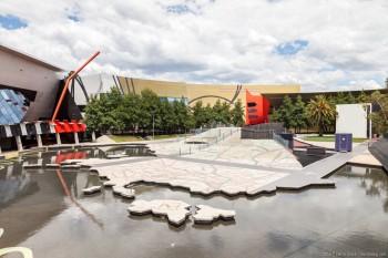 Jardin des rêves australiens, National Museum of Australia, Canberra