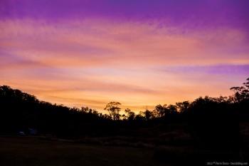 Sunset, Kosciusko National Park