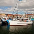 Port d'Hobart et ses bateaux