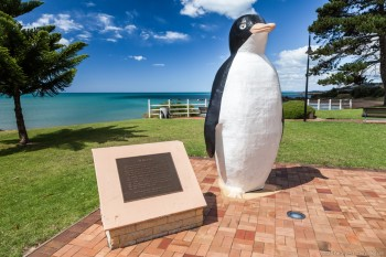Ville de Penguin, Tasmanie