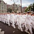 La navy défile, Anzac Day